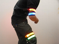 flashing armband led lighting armband hot made in china