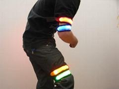flashing armband led lighting armband hot made in china