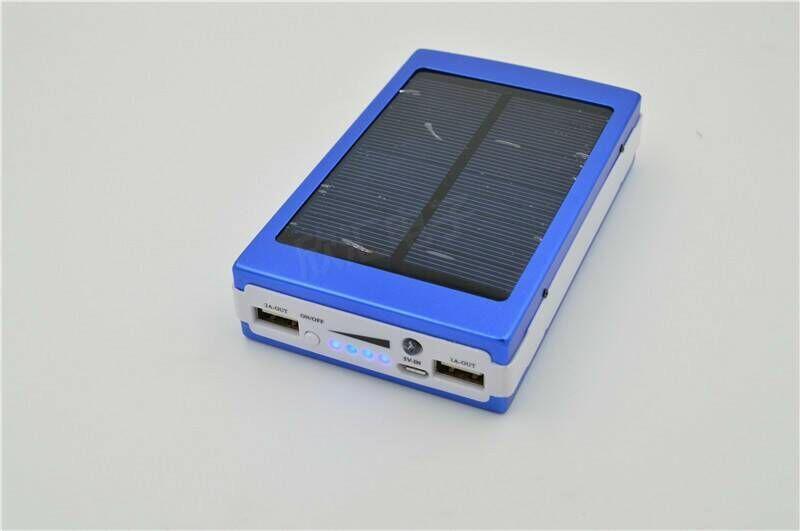 Solar Power Bank Led Camp Light Mobile Charger Led Spb