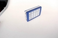 new hot product led solar charger solar power bank led camp light mobile charger 1