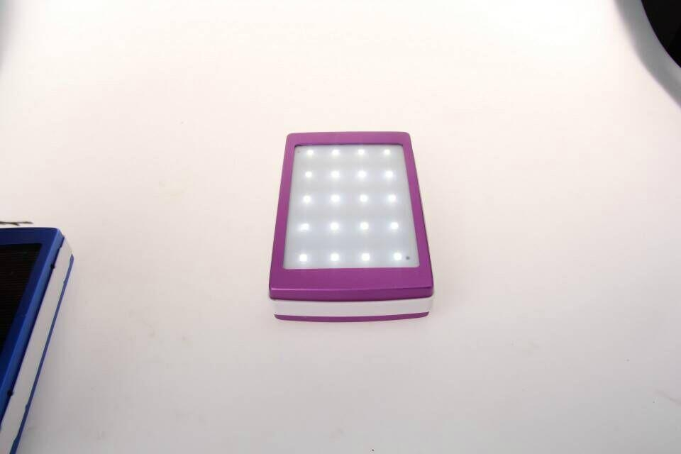 new hot product led solar charger solar power bank led camp light mobile charger 14