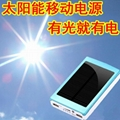 new hot product led solar charger solar power bank led camp light mobile charger 16