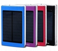 super thin solar power bank led camp light mobile charger 20