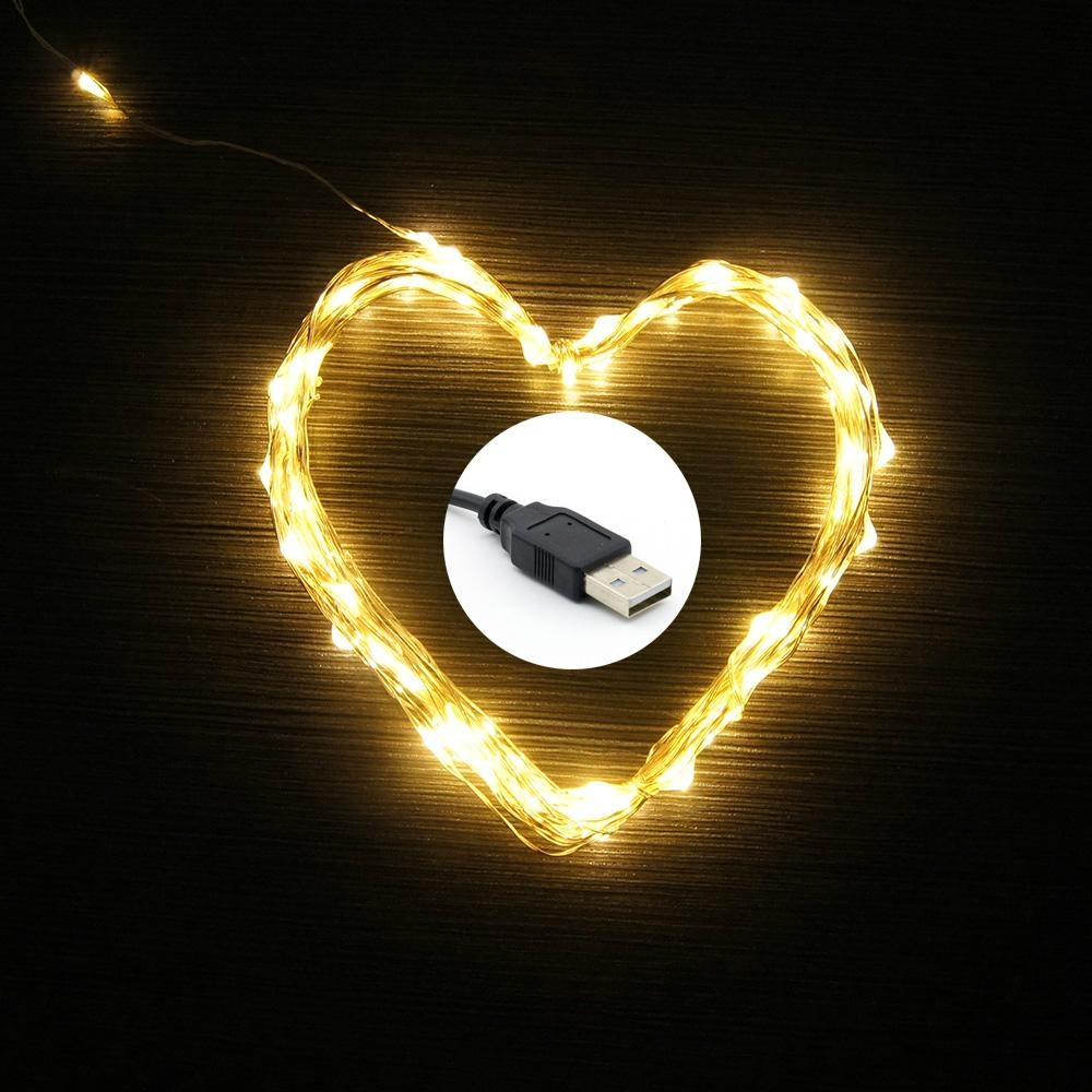 Led String Lights Starry Lights Fairy Lights For Home Decoration Usb Operated Usb String Gws