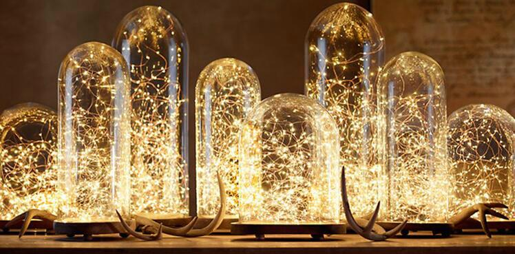 電商爆款 USB銅線燈串 充電寶DC5V燈串 led防水銅線燈 13