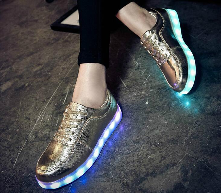 Led Light Shoes Led Strip Glowing Shoes Night Bright Shoes