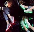LED strip shoes