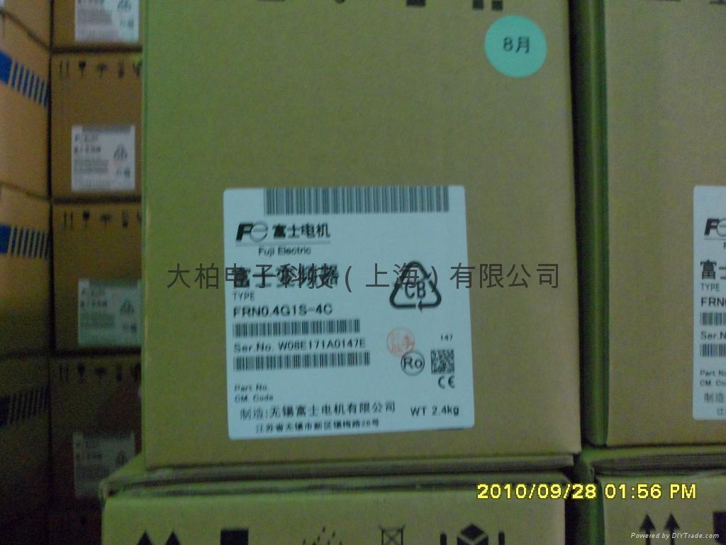 富士变频器FRN0.75C1S-4C 3