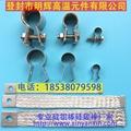 硅碳棒直径14螺丝夹子不锈钢夹子 内编织硅碳棒夹子 2