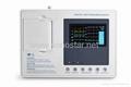 SE-3B Digital Three Channel Color  Screen ECG Machine