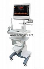 Sonostar hot sale cheap medical 3D 4D trolley ultrasound machine competitive C10