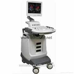 Sonostar cheap trolley doppler ultrasound machine color ultrasound scanner SS-20