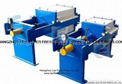 Leo Filter Press Mid Size 630mm Plate Manual Hydraulic Filter Presses