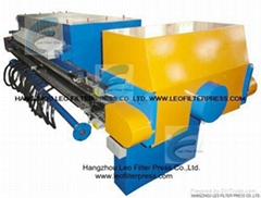 Leo Filter Press Automatic Palm Oil Membrane Filter Press