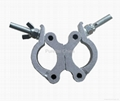 Clamp for stage use Aluminum, Hook,
