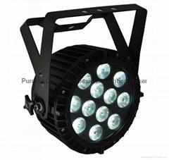 Slim PARPRO HEX12 RGBWA+UV LED WITH POWERCON Stage Wash Light