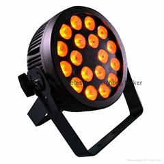 CE approved POWERCON 18x12W RGBWA UV LED Par Stage Light