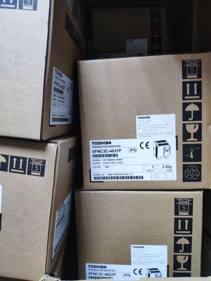 TOSHIBA VF-NC3C(PLUS) 3PH-380/460V-3.7KW 2