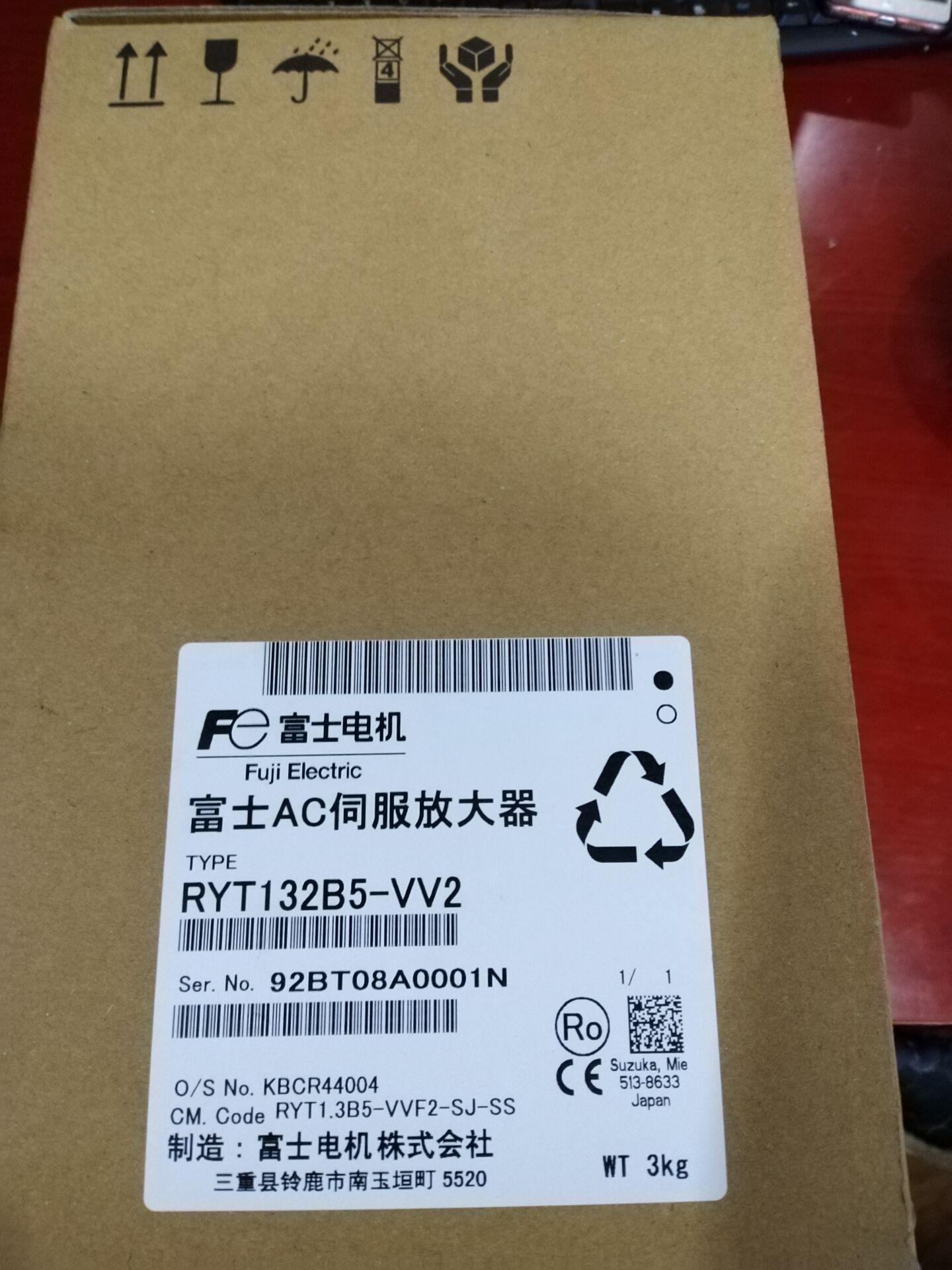 FUJI GYH202C6-TC2-B 富士伺服电机 3
