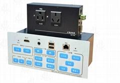 4進2出HDMI高清中控