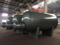 浙江科誠臥式容積式水水熱交換器