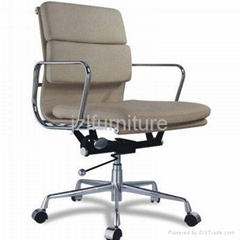 medium back eames soft pad management chair