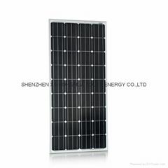 factory wholesale price 150W monocrystalline solar panel pv module