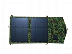 7W 10W 14W portable solar energy charger to charge smart phone
