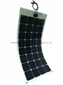 Sunpower Cell Semiflexible Solar Panel For Rv Boats 100w