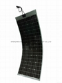 RV, Boat application 100W flexible solar