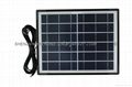 small size new design solar panel 3W/5W