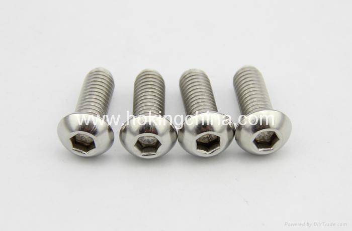半圓頭內六角螺釘(ISO7380) 1