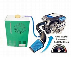 HHO gas generator fuel saver dry cell system for car/ truck