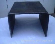 天津鍍鋅U型鋼
