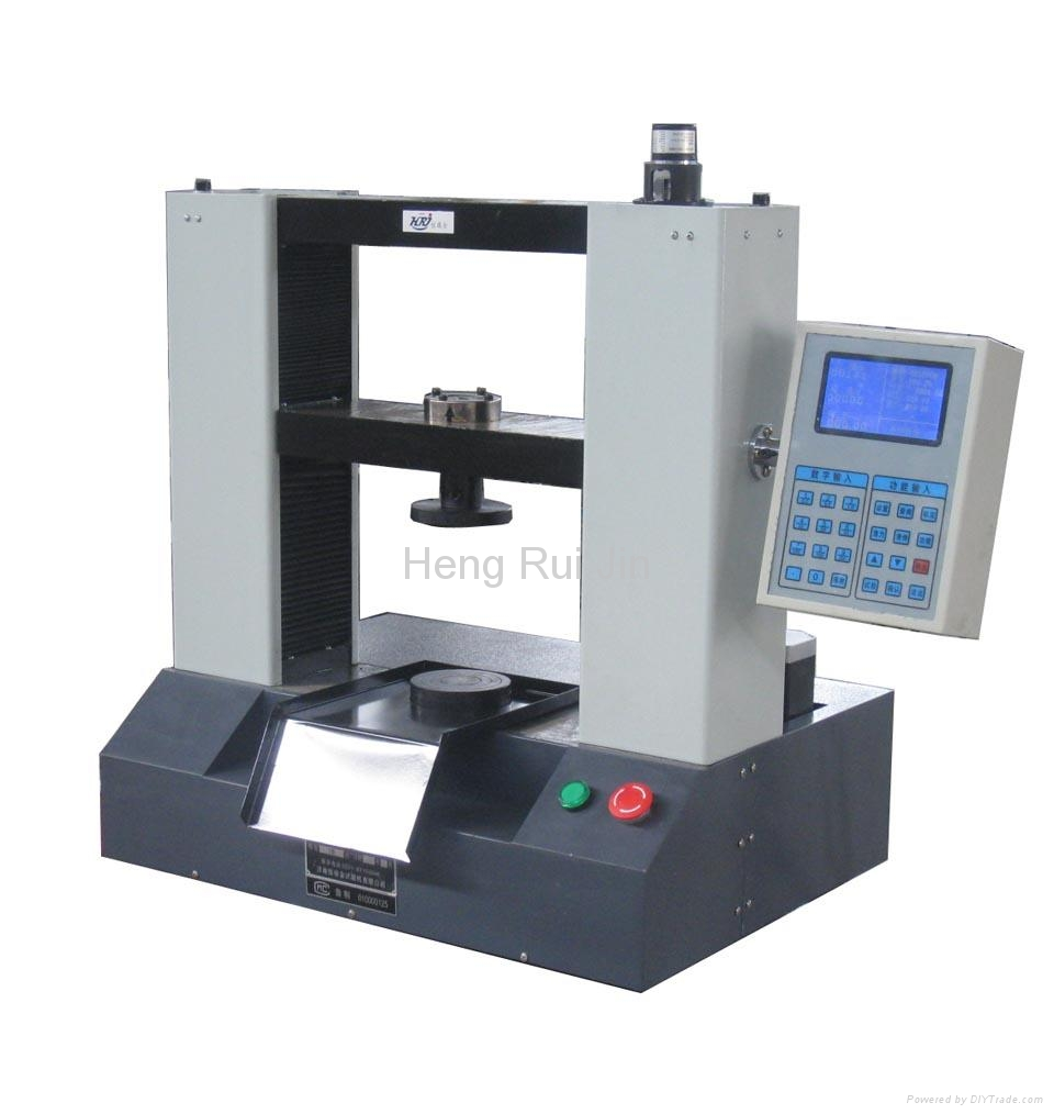 Electronic Product Testing Instruments : Digital iron ore pellets compression testing machine kys