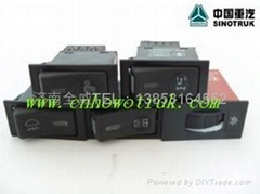 HOWO rocker switch assembly of various