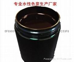 果袋纸用水性黑色浆