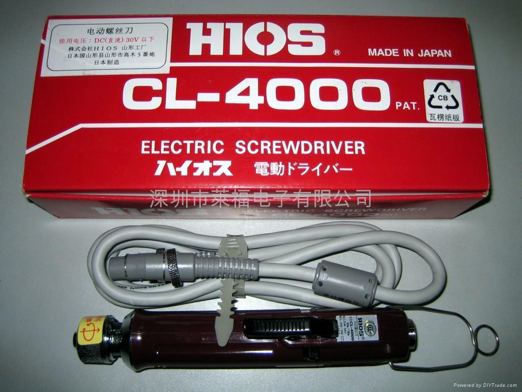 HIOS电批CL-4000 1
