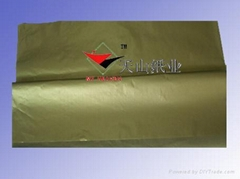 golden&silver tissue paper