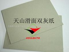 供應茶葉盒專用2MM雙面滑灰板紙