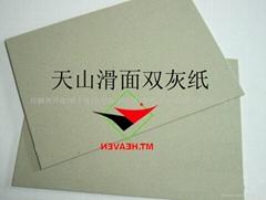 滑面雙灰紙板根據客戶要求加工截切各種尺寸