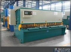 QC12Y shearing machine plate shear