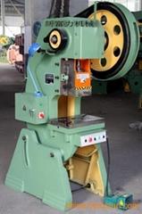 Punching machine for mechanical press
