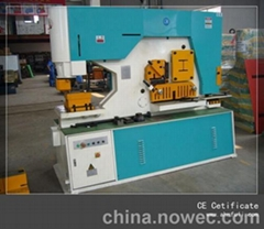 Hydraulic combined punching and shearing