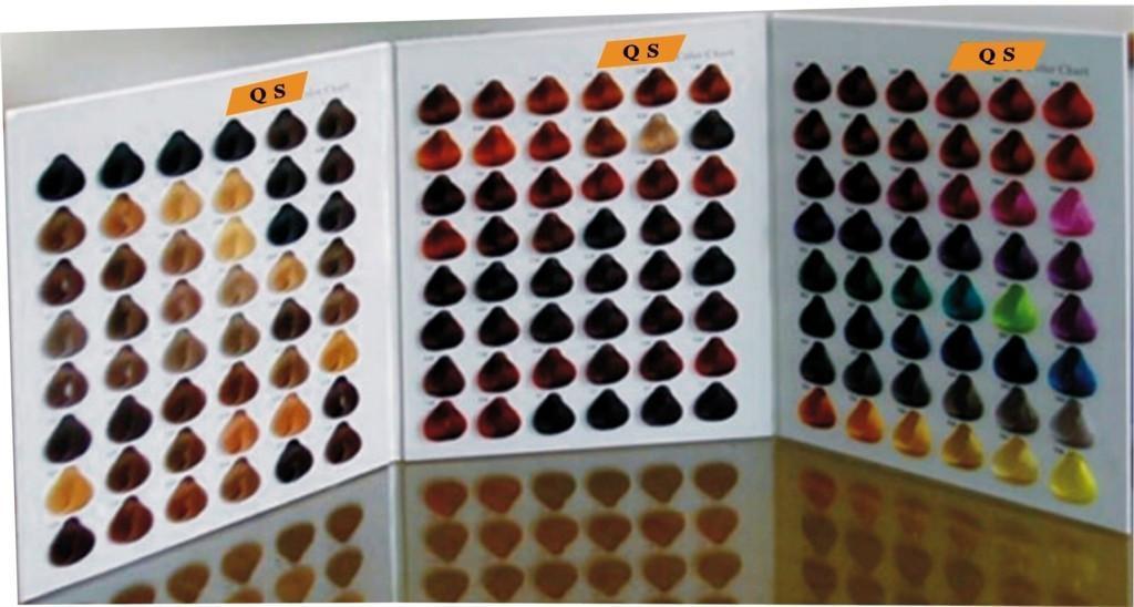 Hair Cream Color Palette Cards Qs00010 Thousands Of
