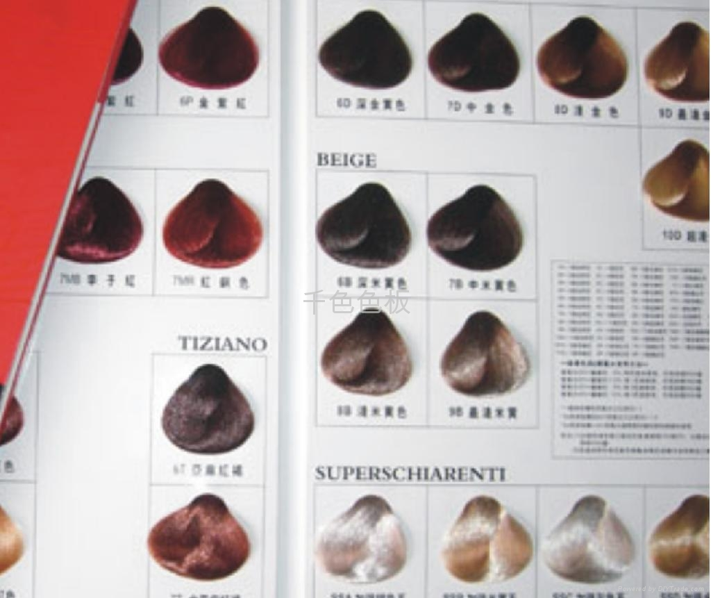 Hair color swatch card - China - Manufacturer - Product ...