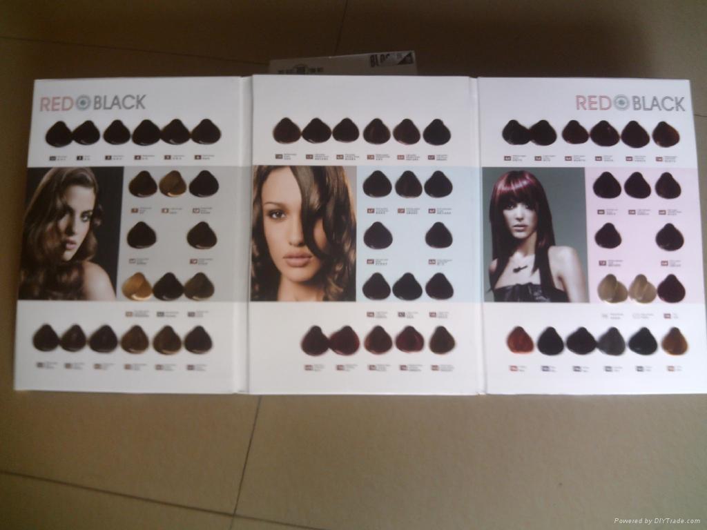 染髮膏色板色卡 1