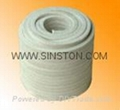 Ramie fiber packing with PTFE