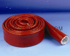 Fiberglass Sleeving with silicone rubber coating