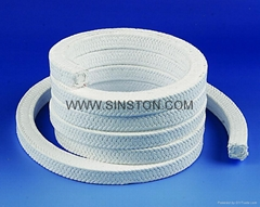 White PTFE Packing with oil